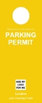 Parking Permit - Yellow