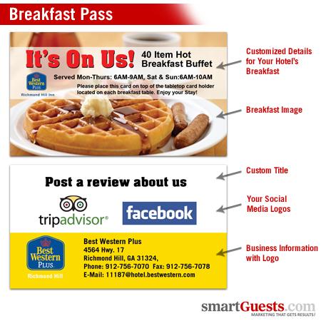 Breakfast Pass Cards
