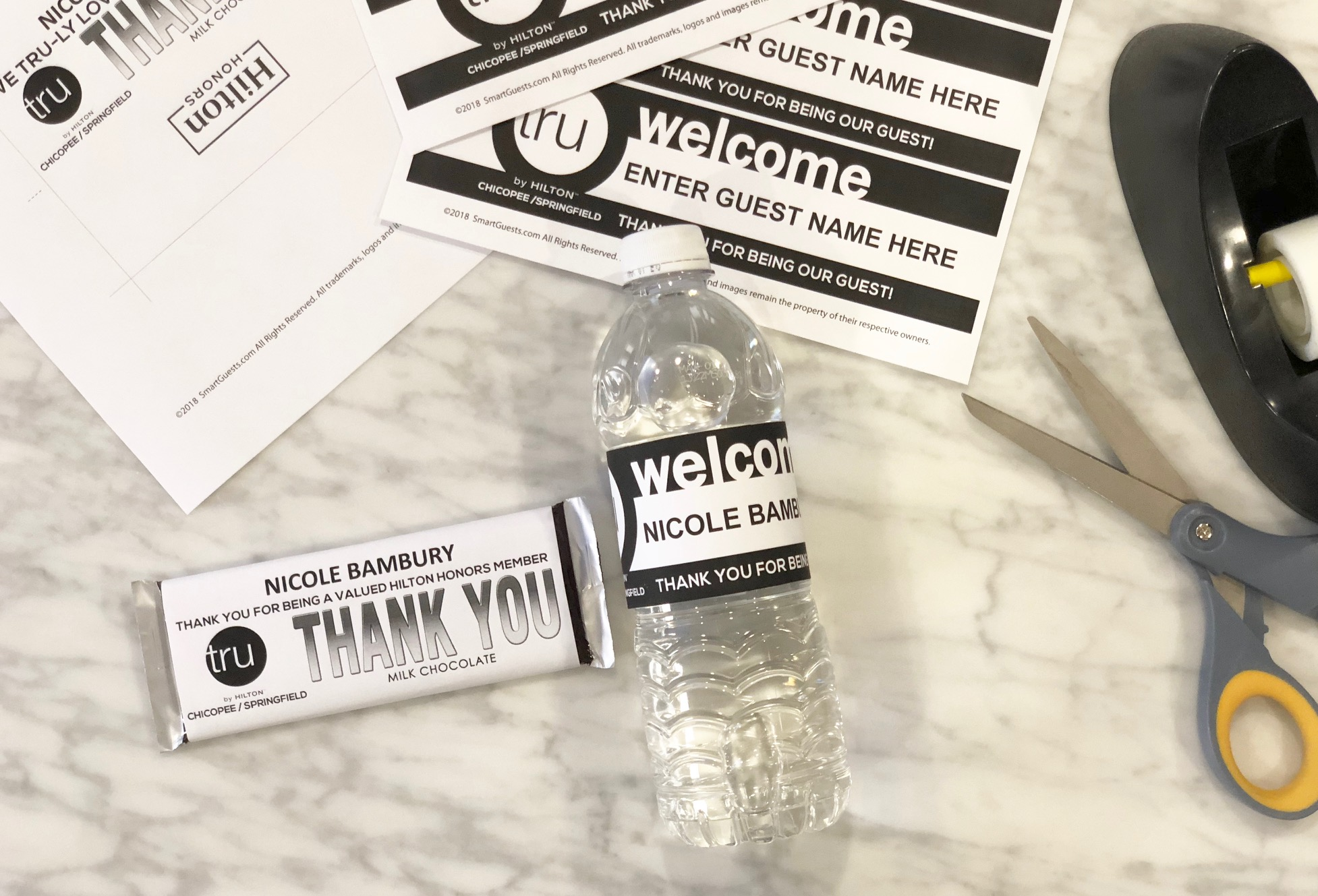 Guest Recognition Combo Pack