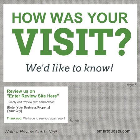 Write a Review - Visit