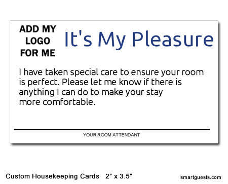 Custom Housekeeping Cards