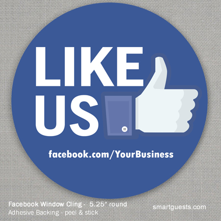 Social Window Cling