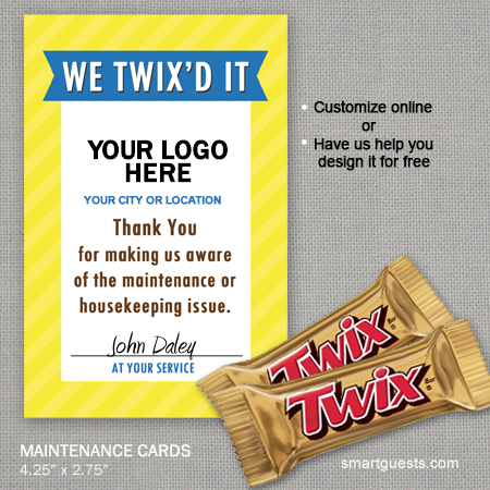 Twix'd Maintenance Cards